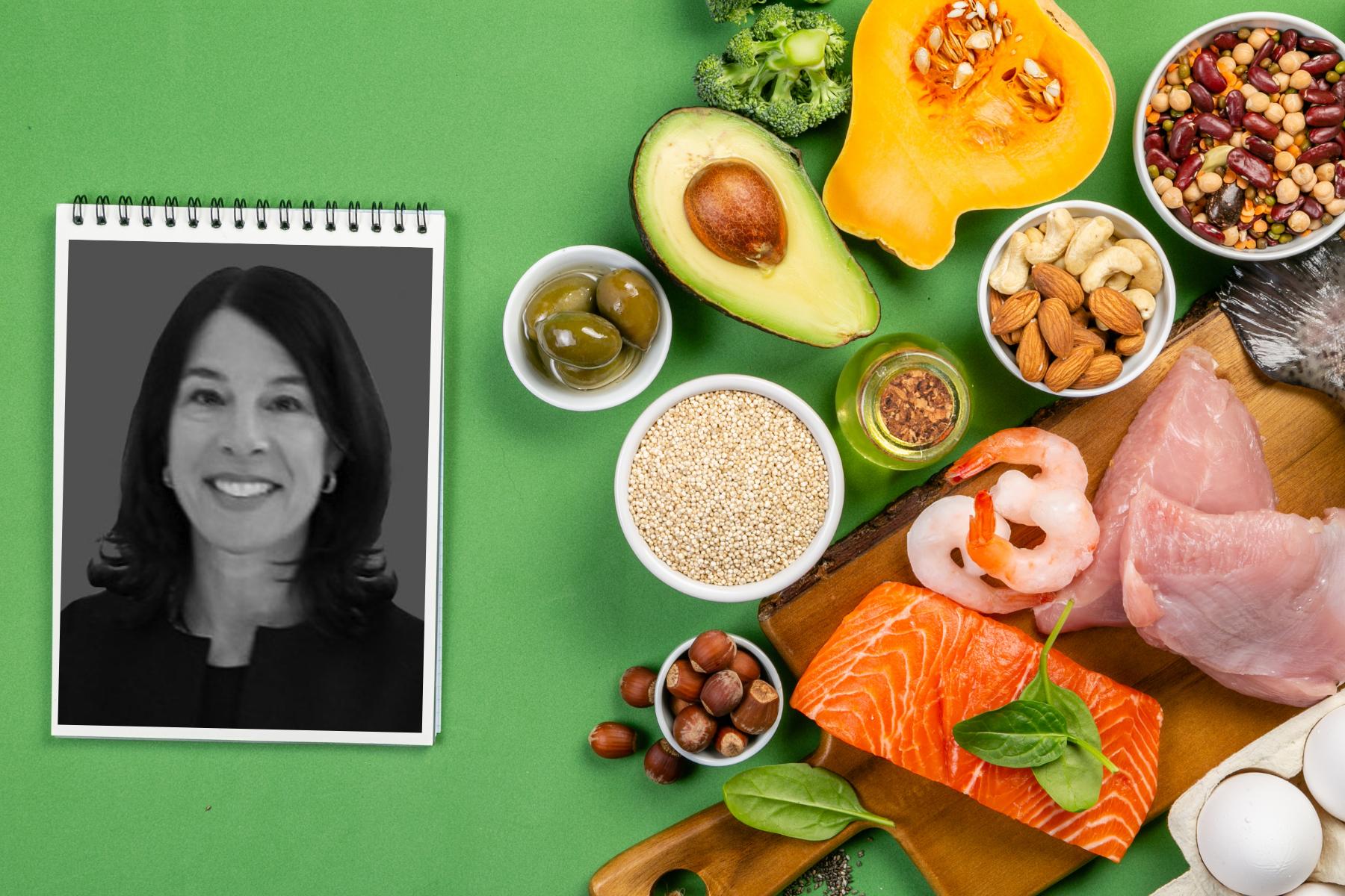 Francine Blinten and food