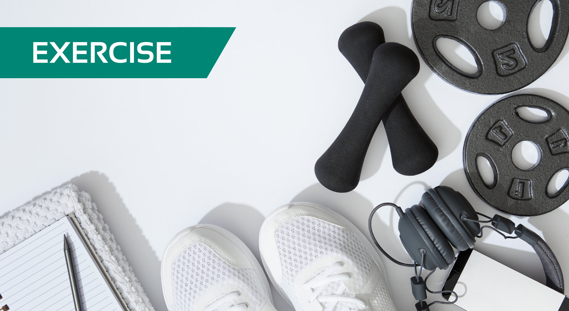 exercise banner