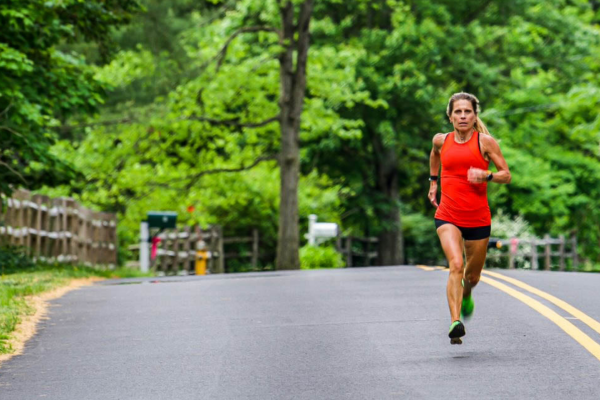 Heather Pech running
