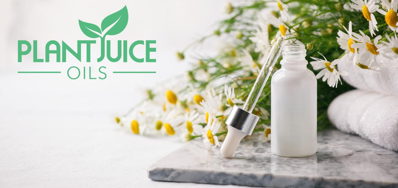 plant juice oils banner